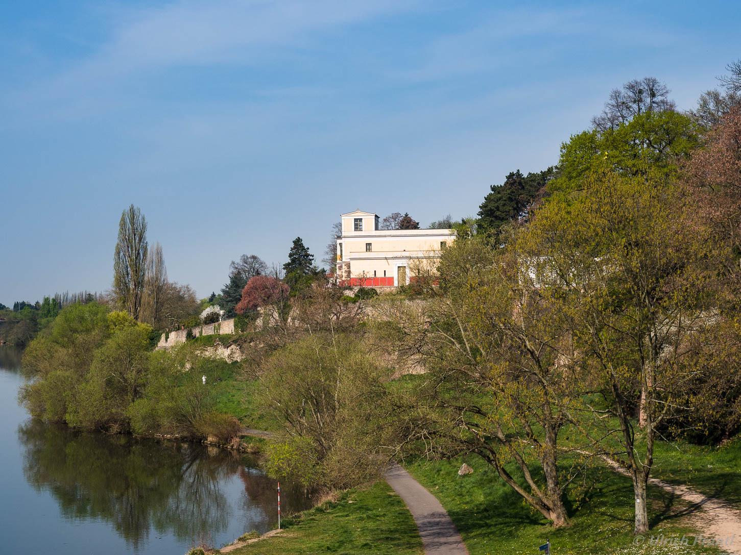 Aschaffenburg, Pompejanum, Main