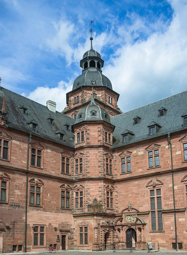 Aschaffenburg Schloss Innenhof