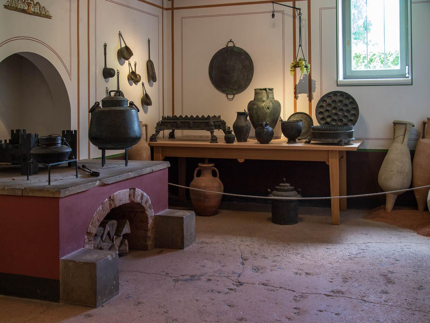 Aschaffenburg, Pompejanum, Innenansicht