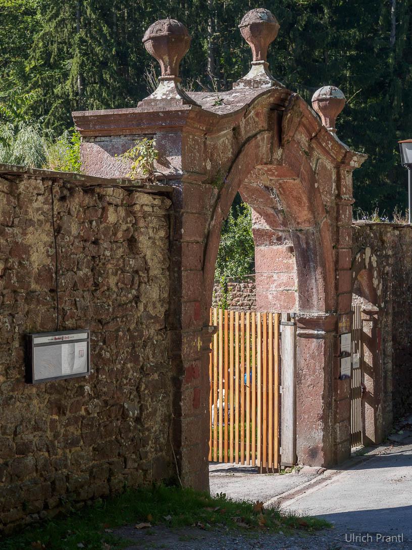 Grünau, Eingangstor