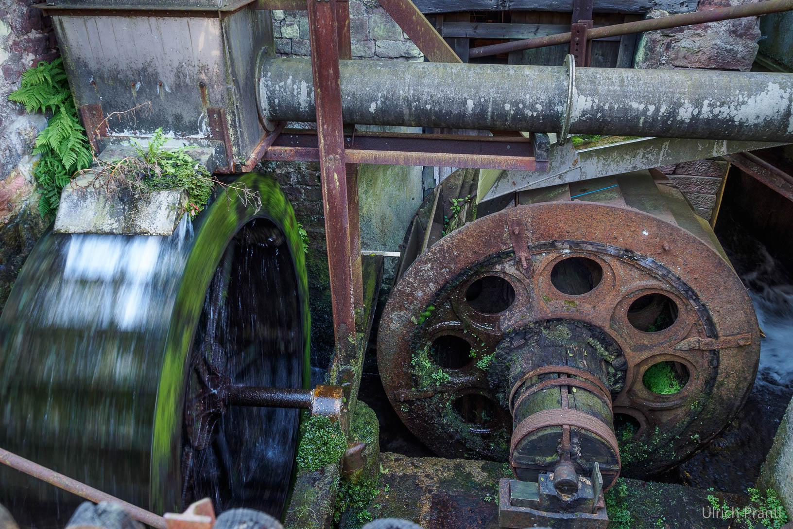 Hasloch Hammerschmiede Wasserräder