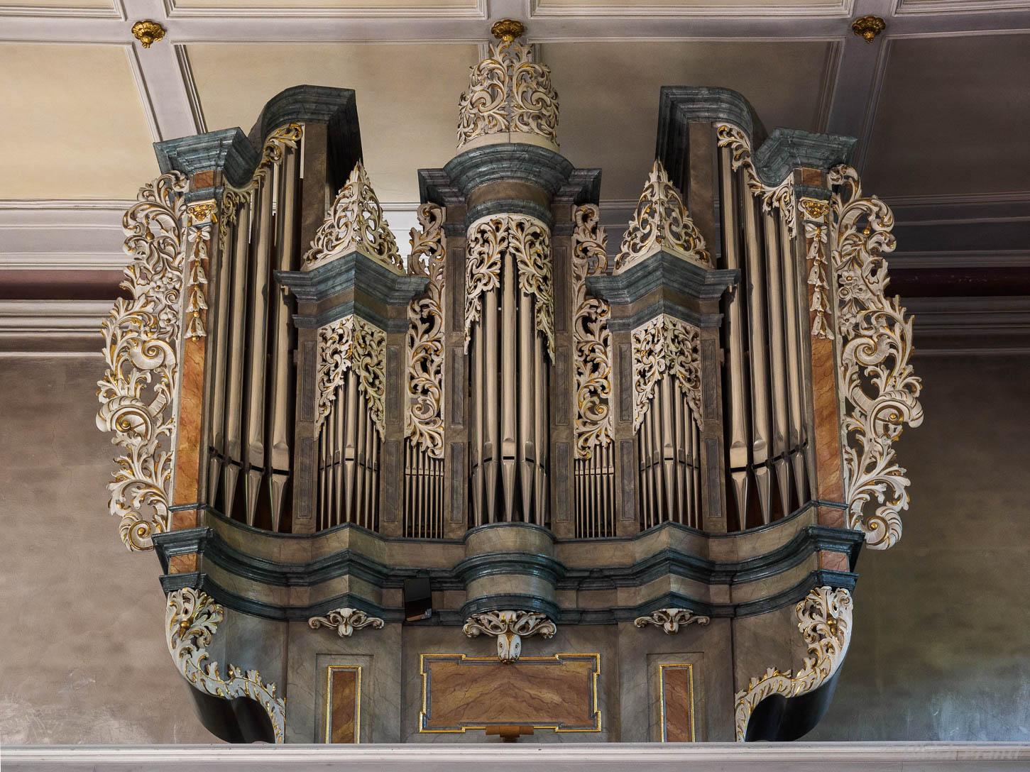 Lohr, Mariabuchen, Orgel