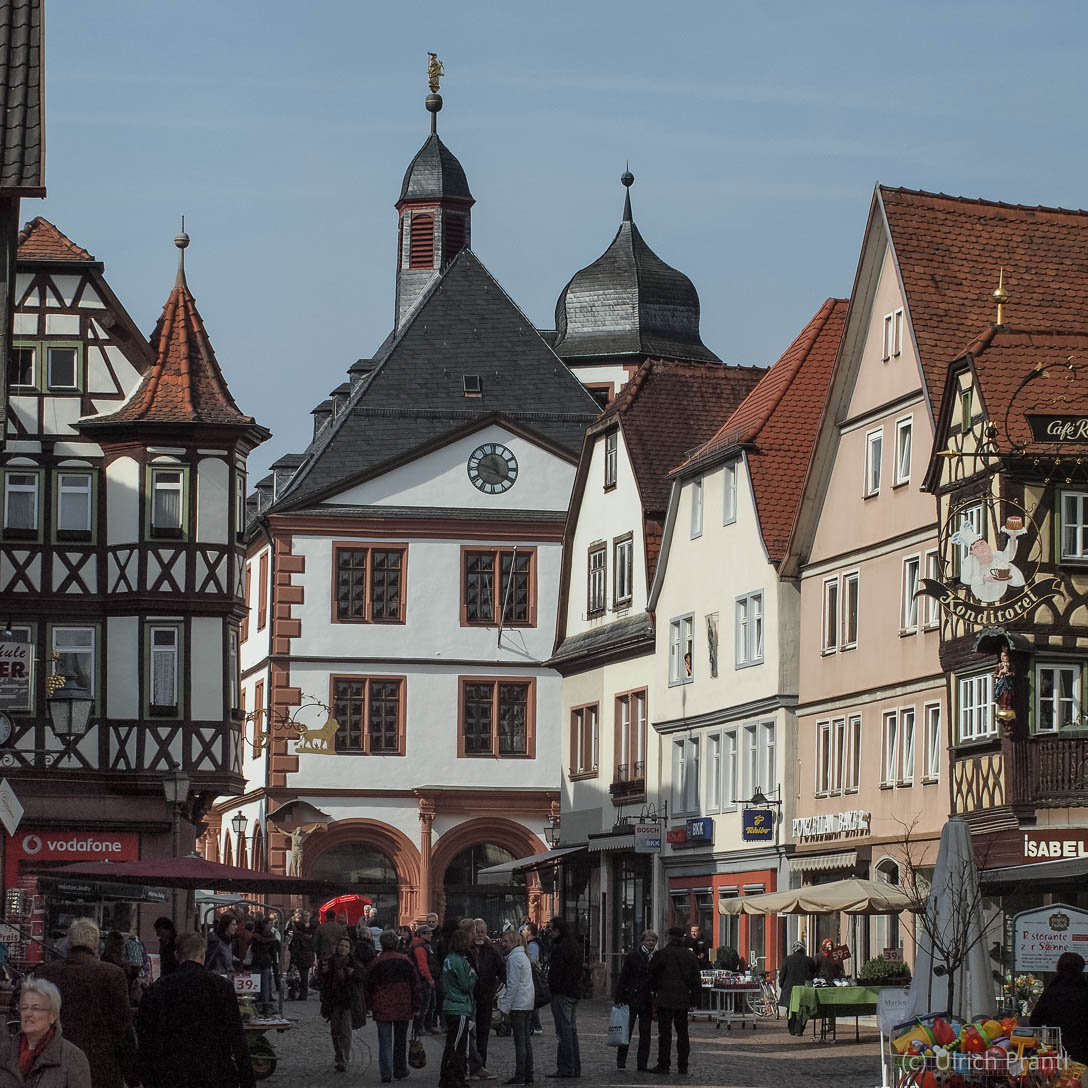 Lohr, Altstadt
