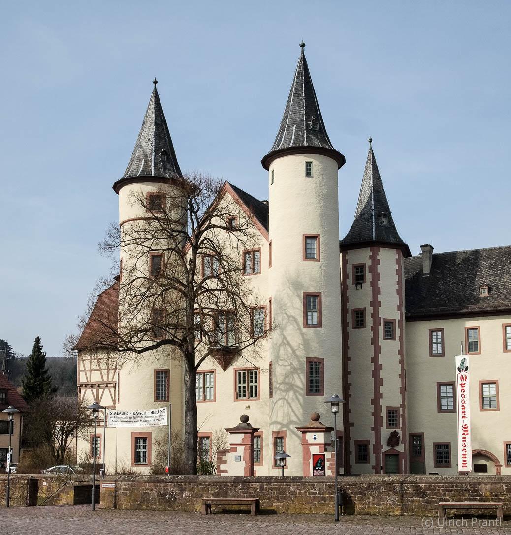 Lohr, Schloss, Schneewittchen