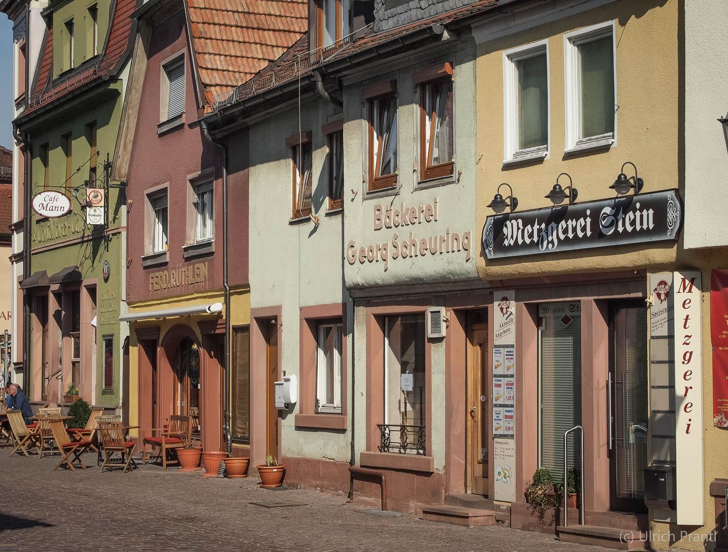 Lohr, Vorstadtstraße