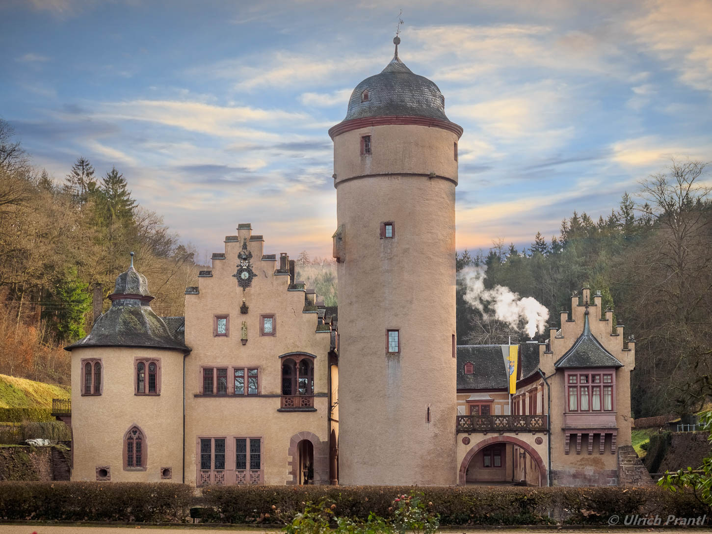 Spessart: Schloss Mespelbrunn