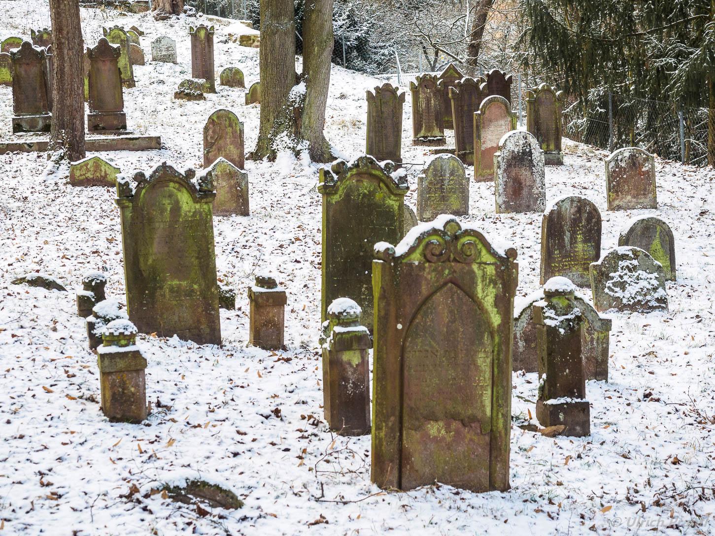 Jüdischer Friedhof, Miltenberg, Winter