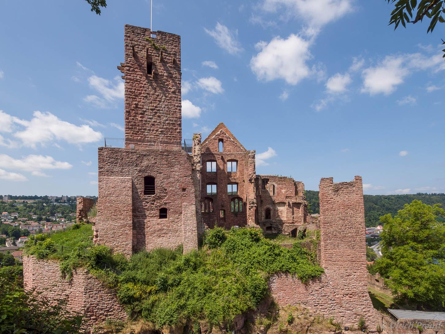Burg, Wertheim, Bergfried