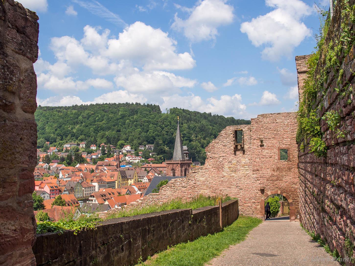 Burg, Wertheim, Aussicht