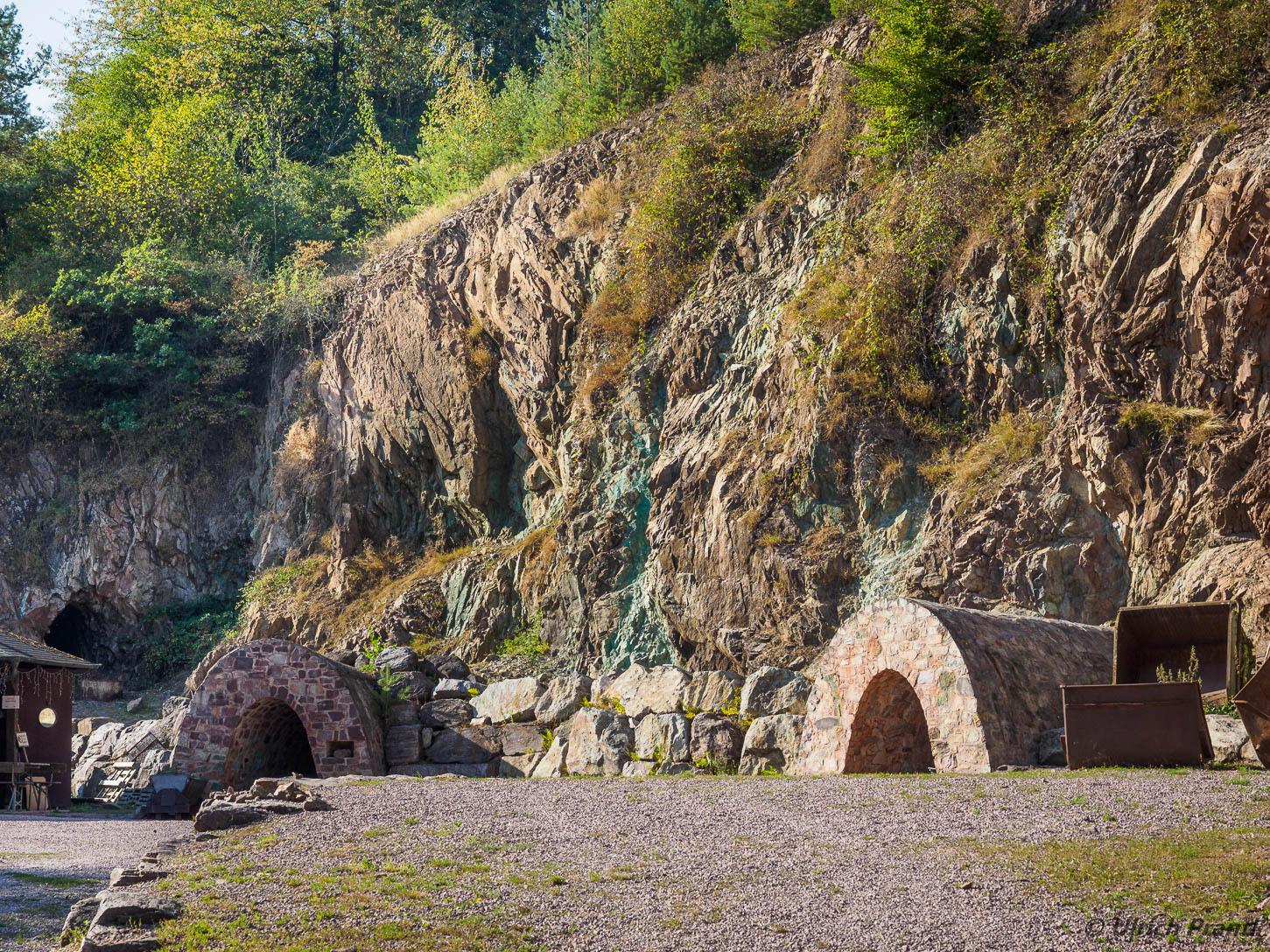 Grube Wilhelmine, Eingang
