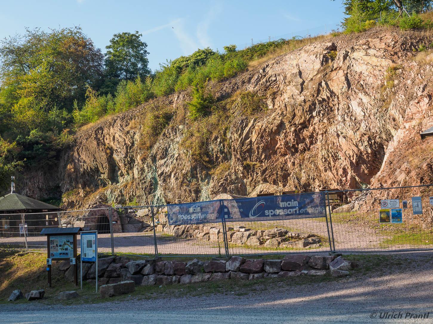 Grube Wilhelmine, Einzäunung
