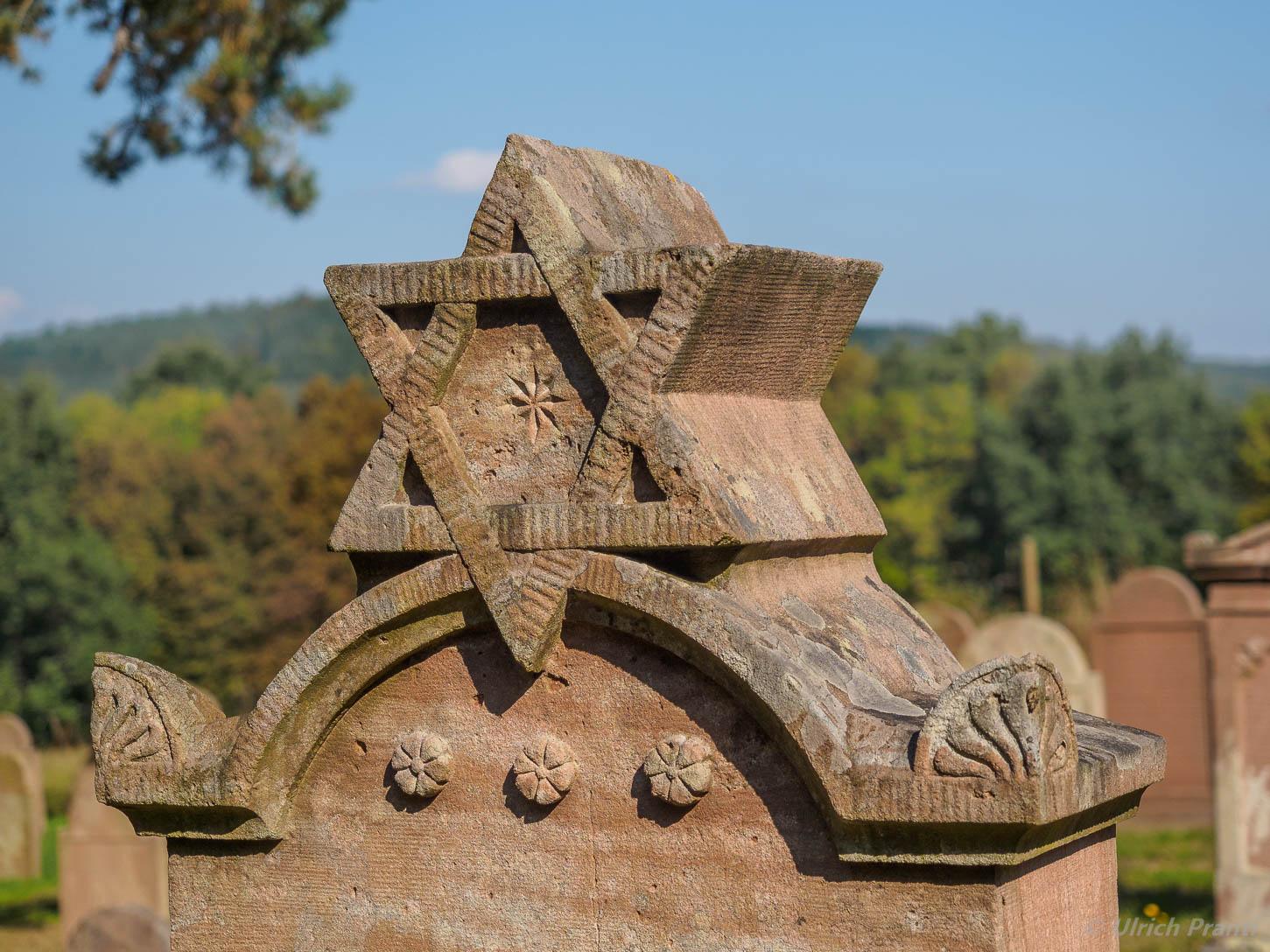 Judenfriedhof Grabmal