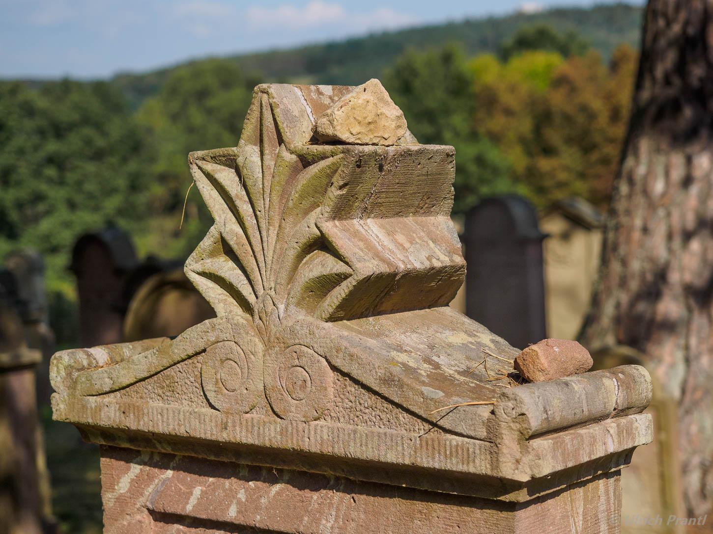 Grabmal, jpdischer Friedhof