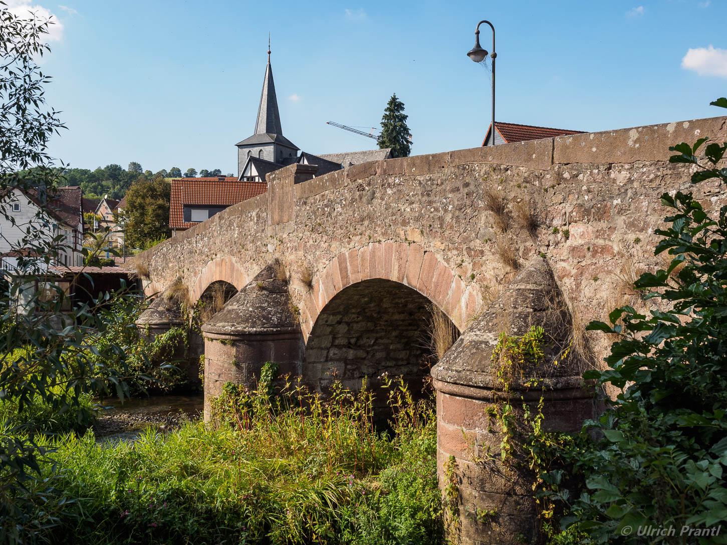 Altengronau, alte Brücke