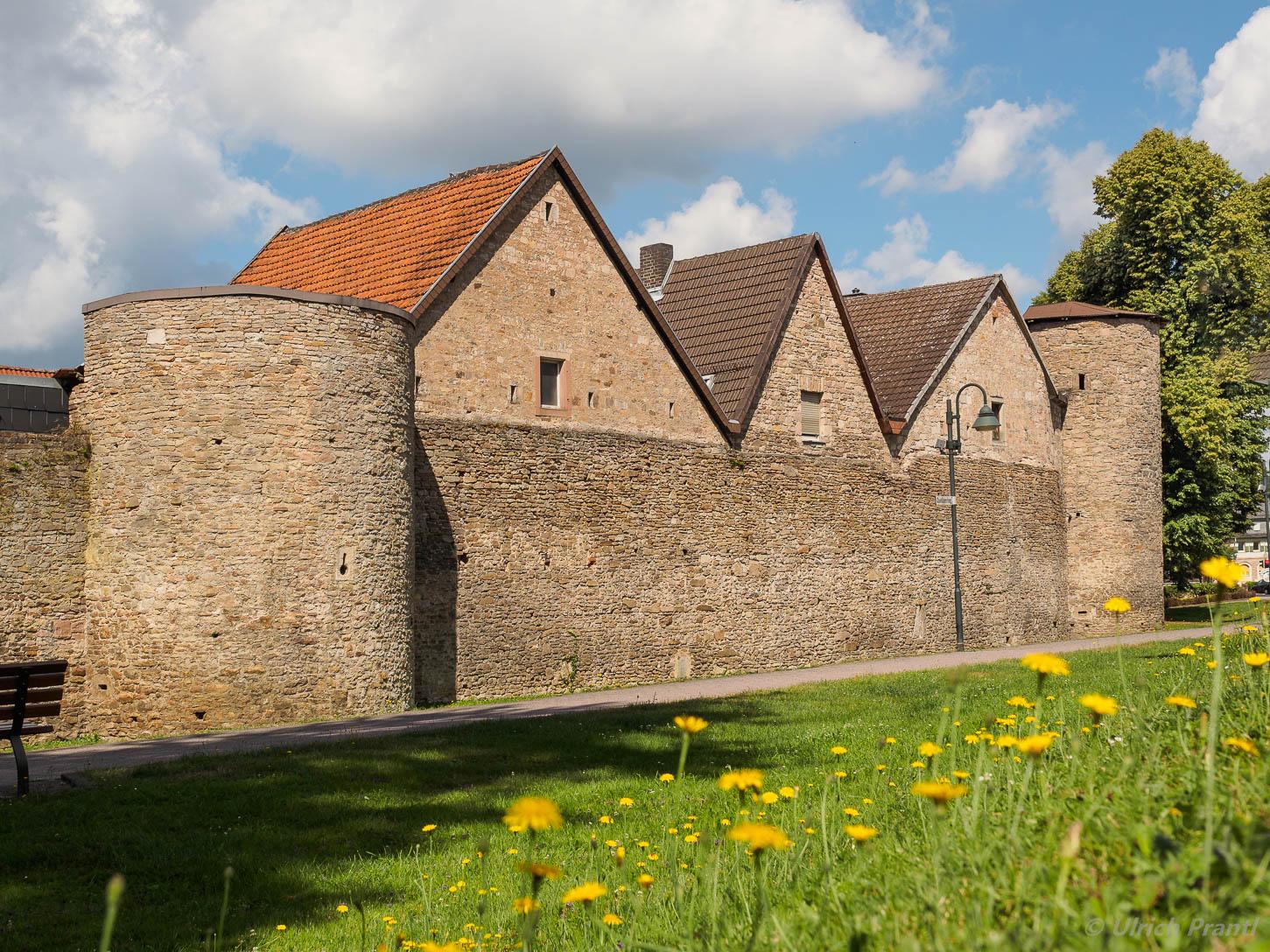 Bad Orb, Stadtmauer