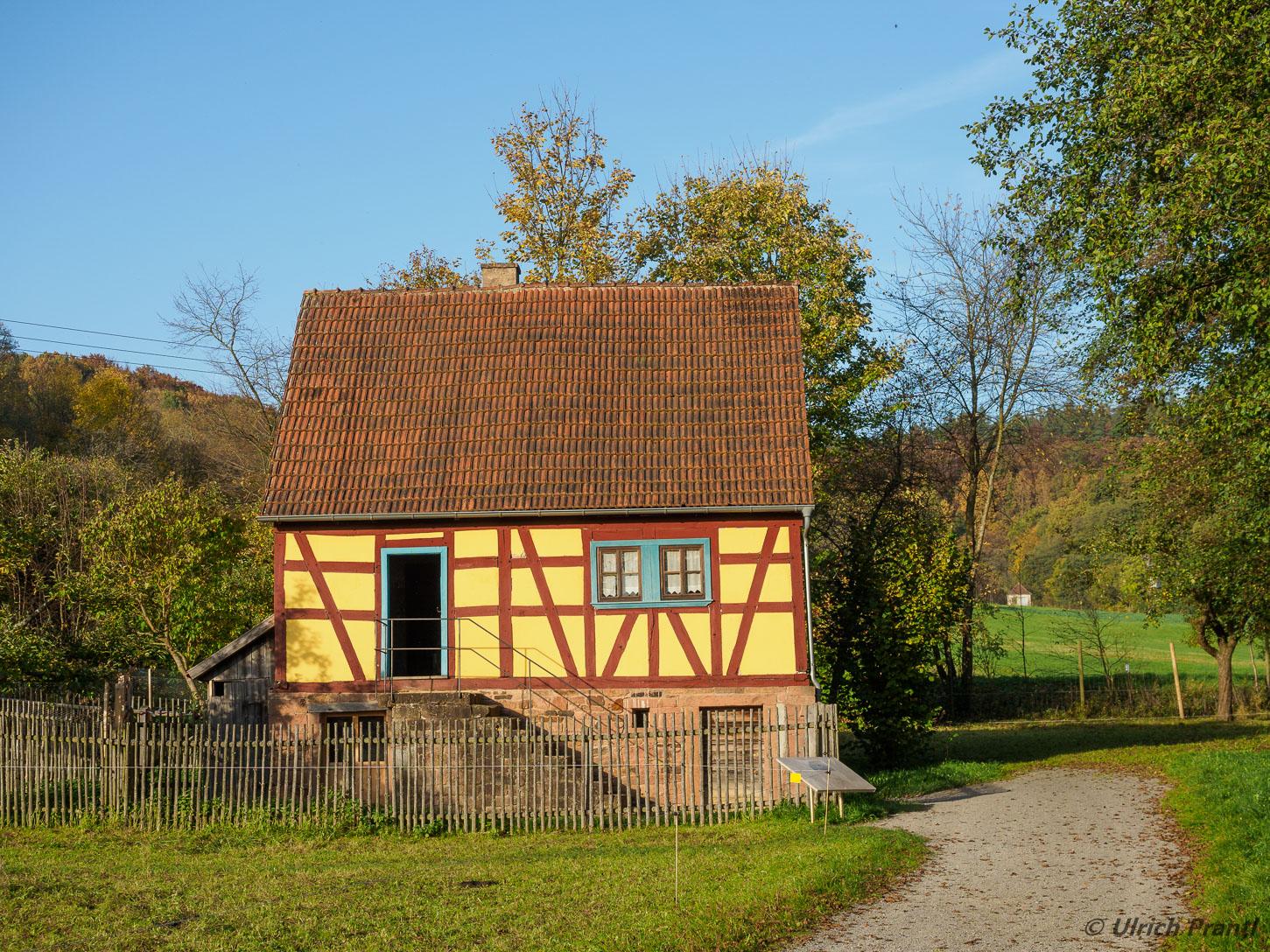 Freiluftmuseum Fladungen:   Taglöhnerhaus aus Wiesthal