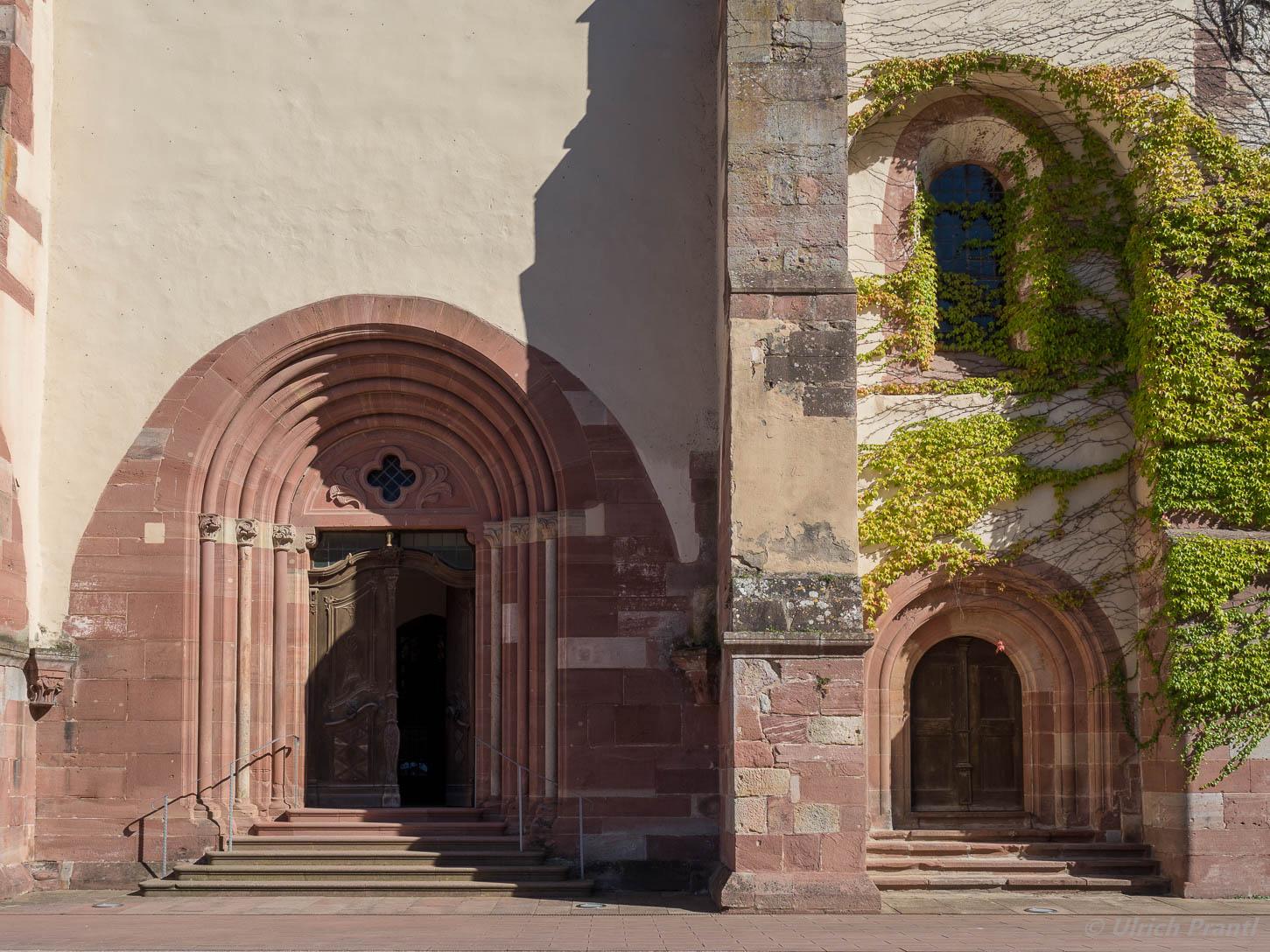 Eingangsportal Kloster Bronnbach