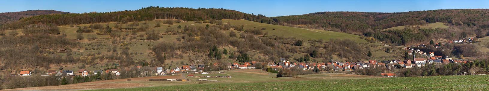 Dammbach Wintersbach Panorama