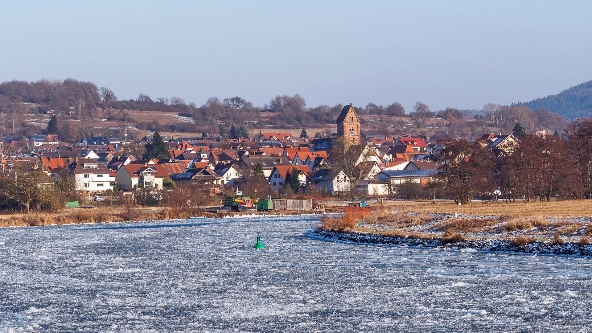 Dorfprozelten im Winter
