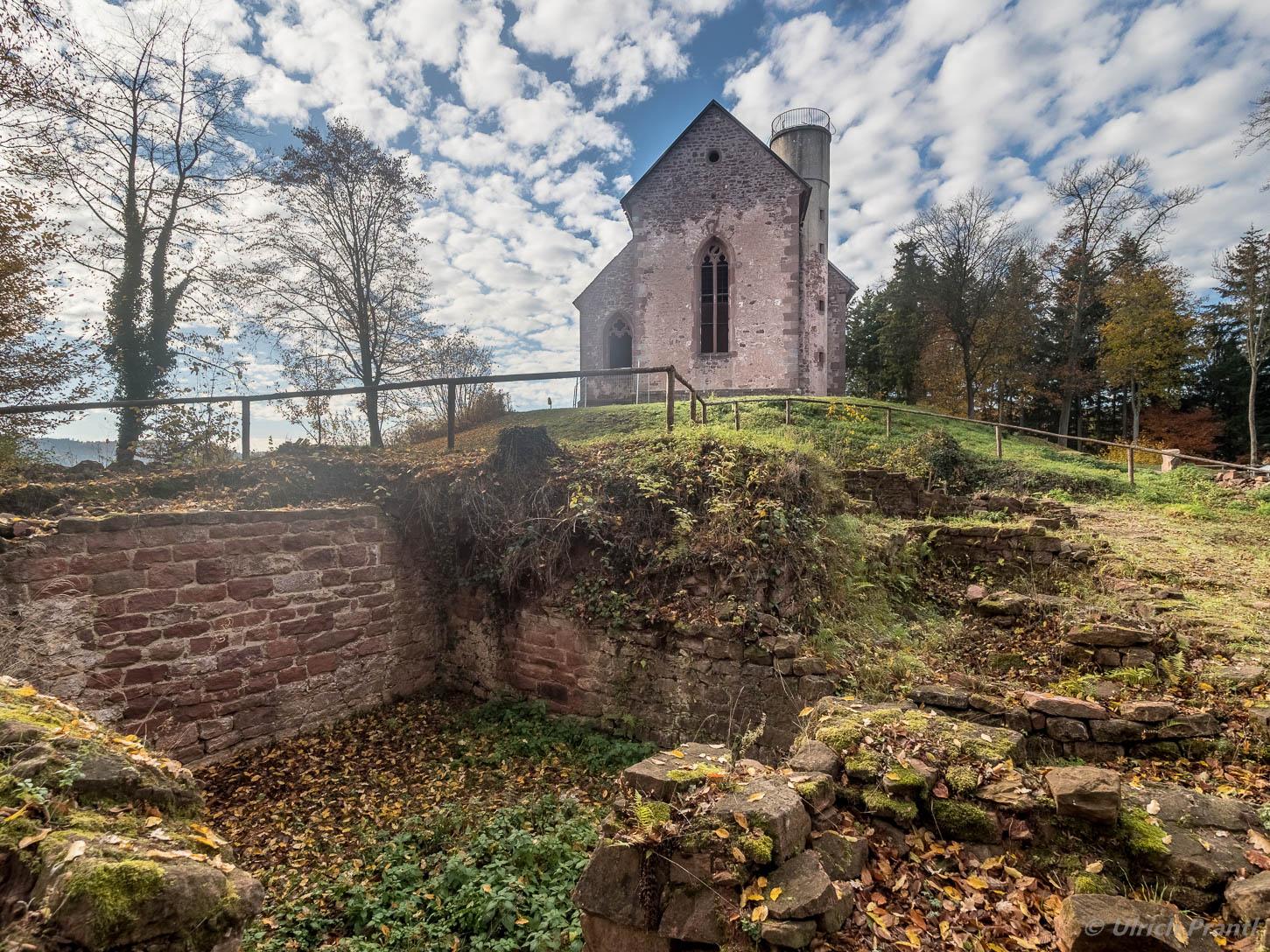 Amorbach, Burg Frankenberg