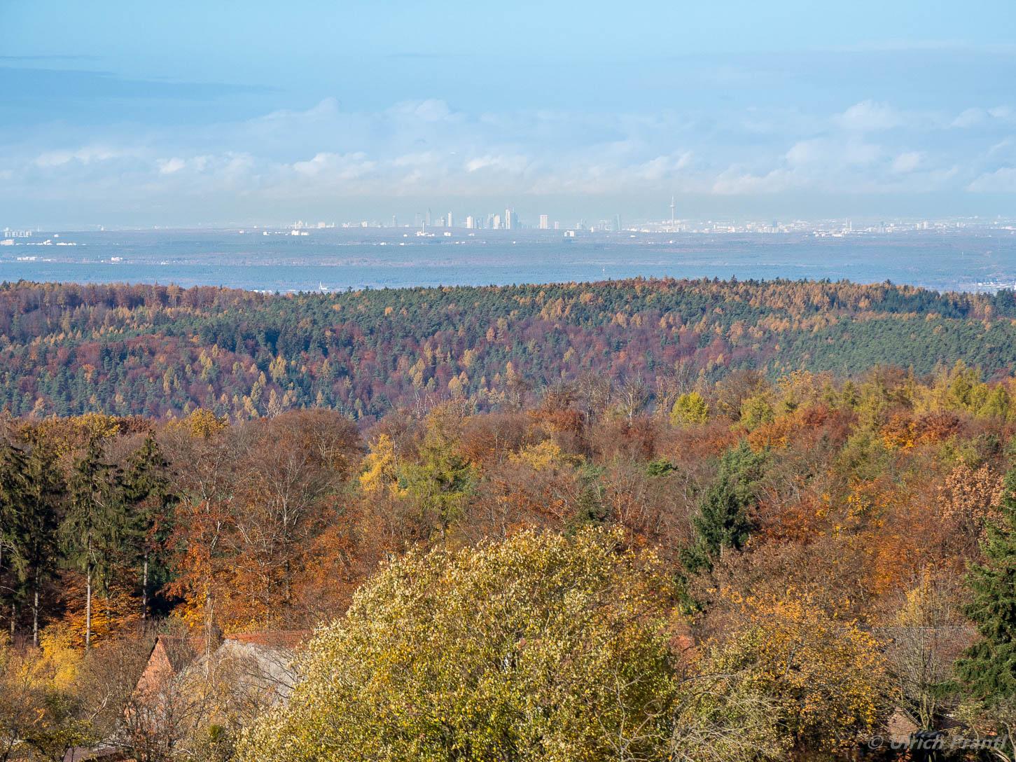Spessartwald Blick von der Geishöhe