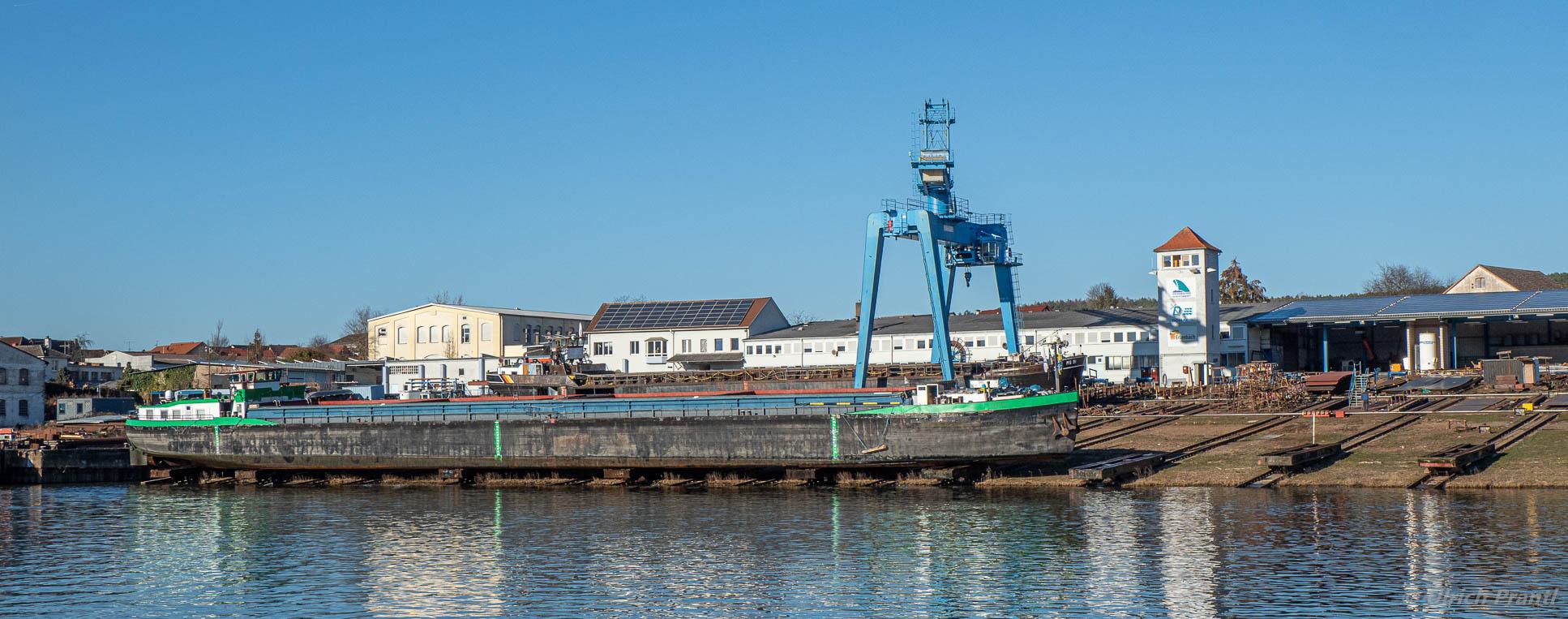 Aufdockung Werft Erlenbach