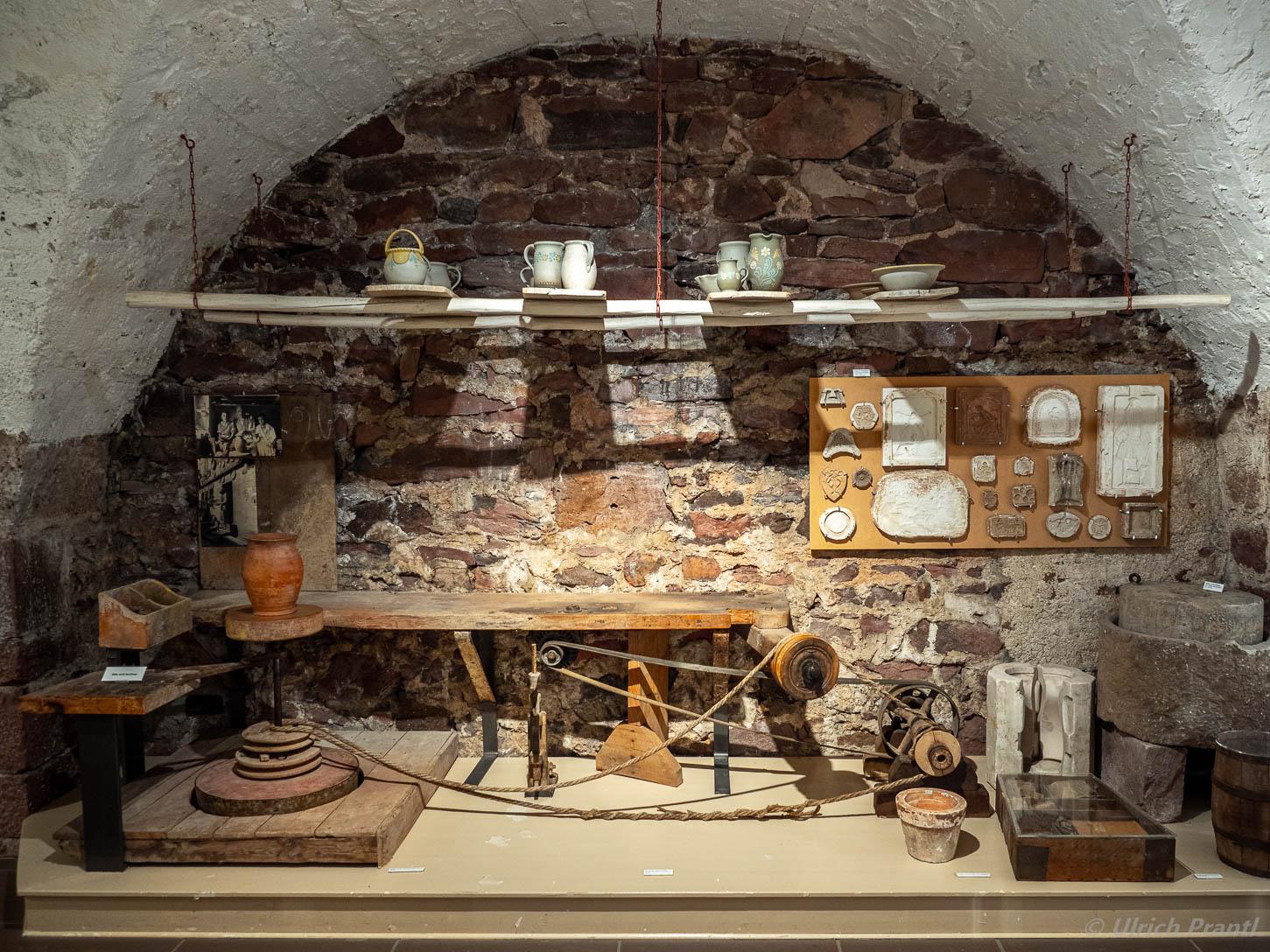 Spessartmuseum Lohr, Töpferwerkstatt