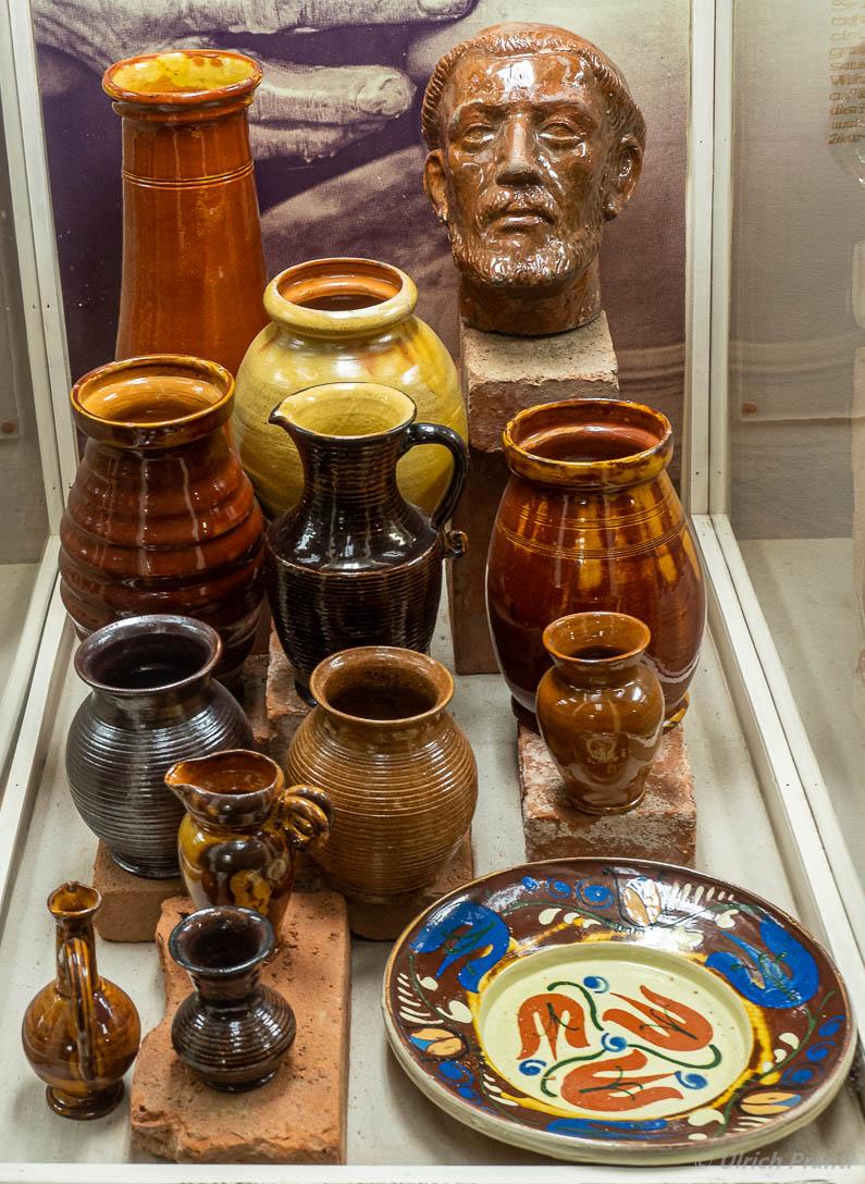 Spessartmuseum Lohr, Töpferware aus Hafenlohr