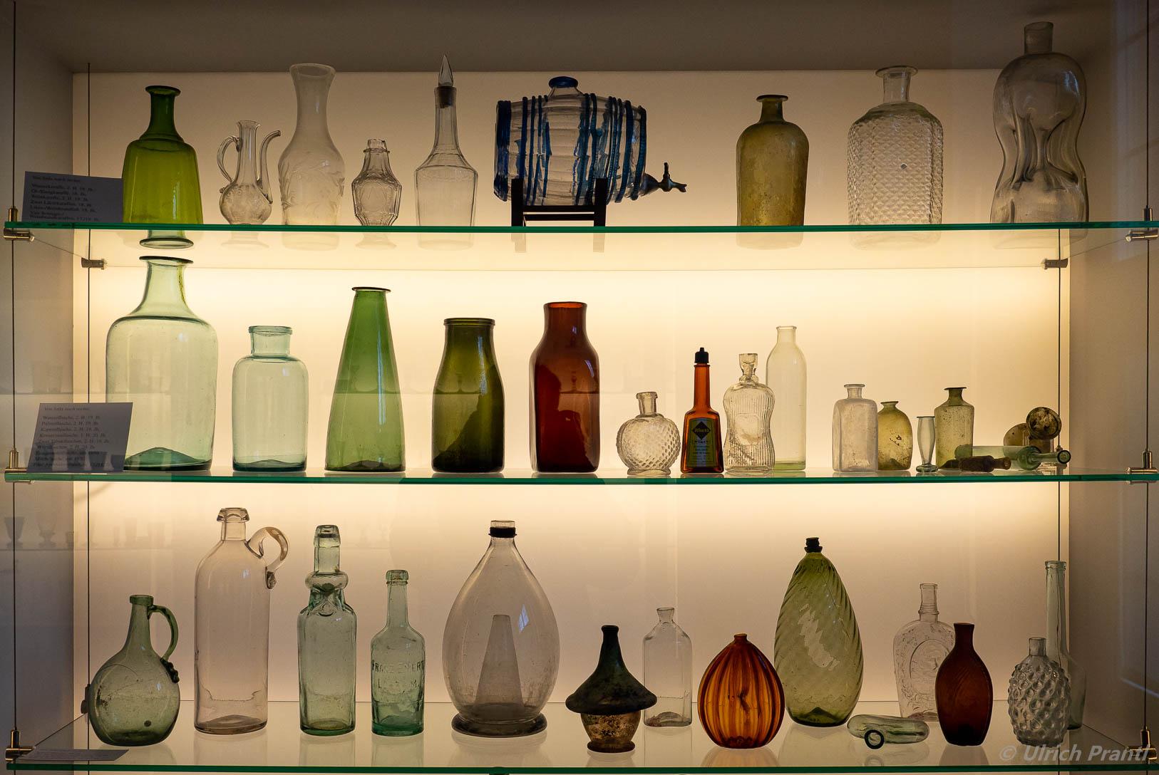 Spessartmuseum Lohr, Glasprodukte aus Einsiedel