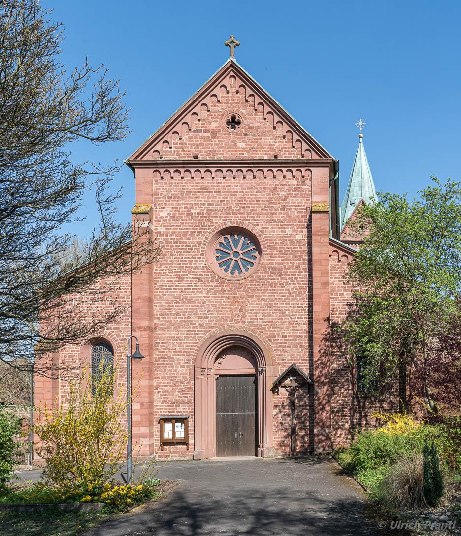 Eingang Klosterkirche Neustadt