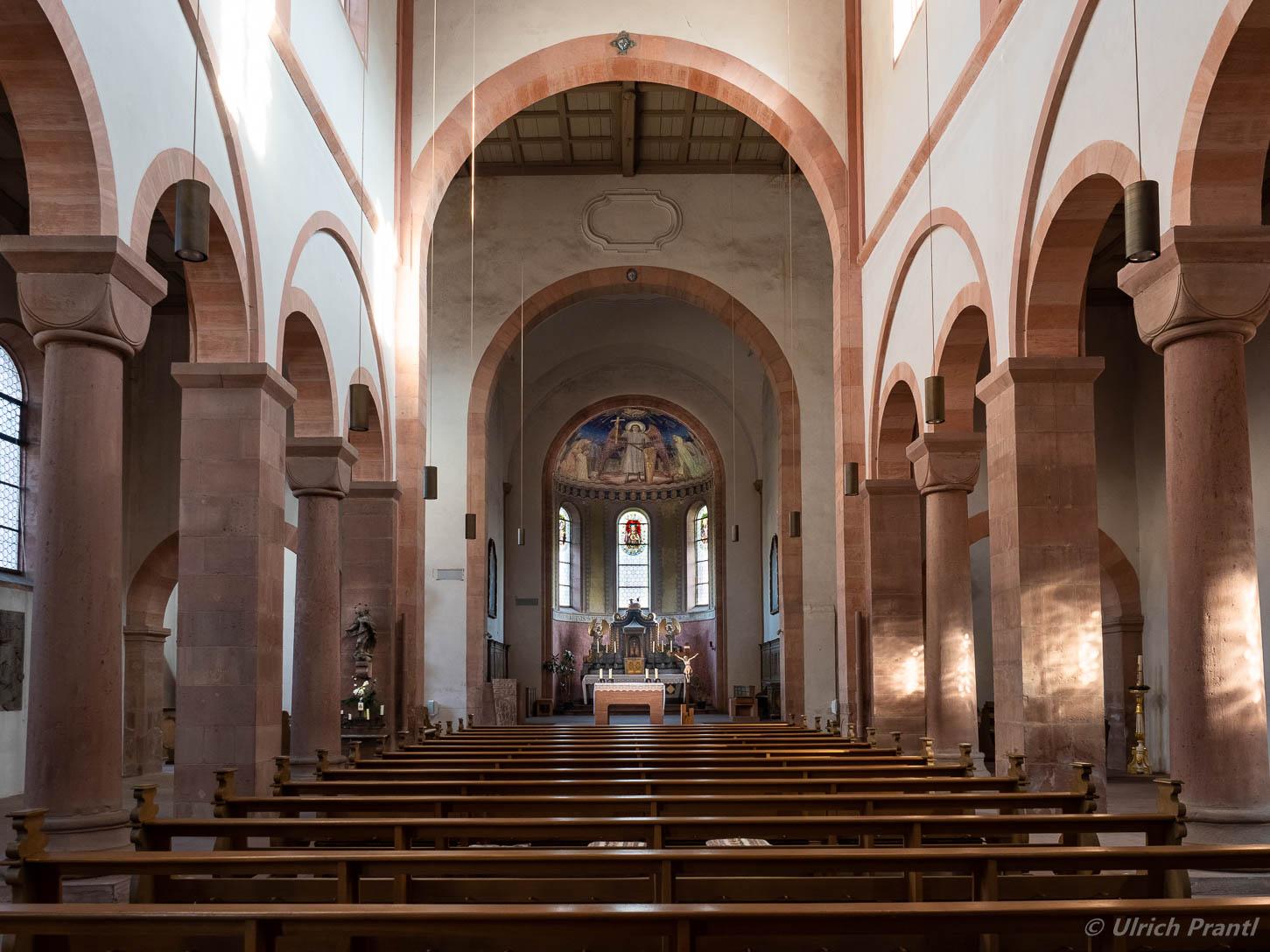 Klosterkirche Neustadt Innenansicht