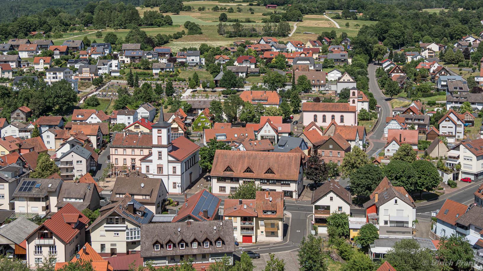Blick auf Partenstein
