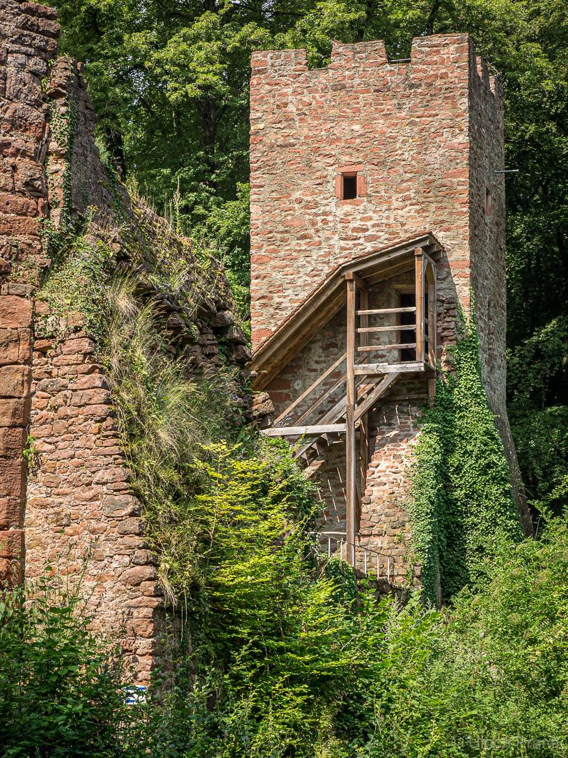 Burg Wildenstein, Bergfried