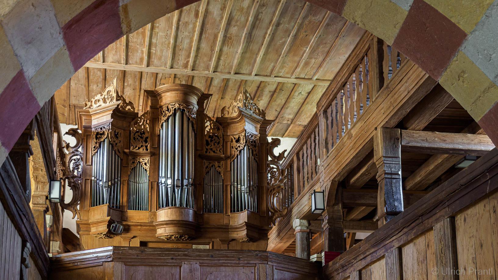 Orgel der Jakobskirche