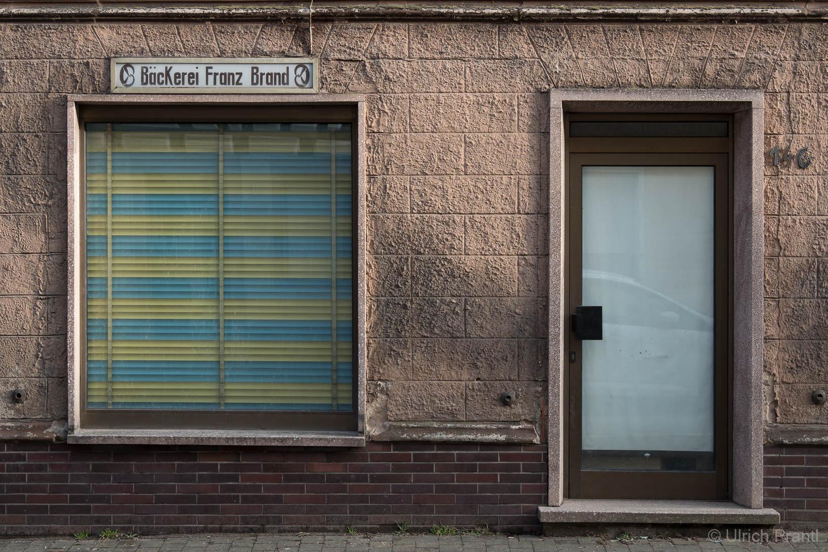 aufgegebener Laden