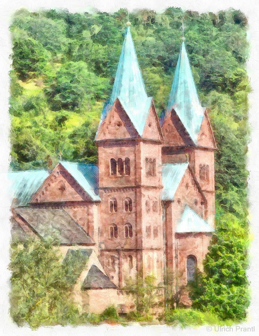art Klosterkirche Neustadt am Main