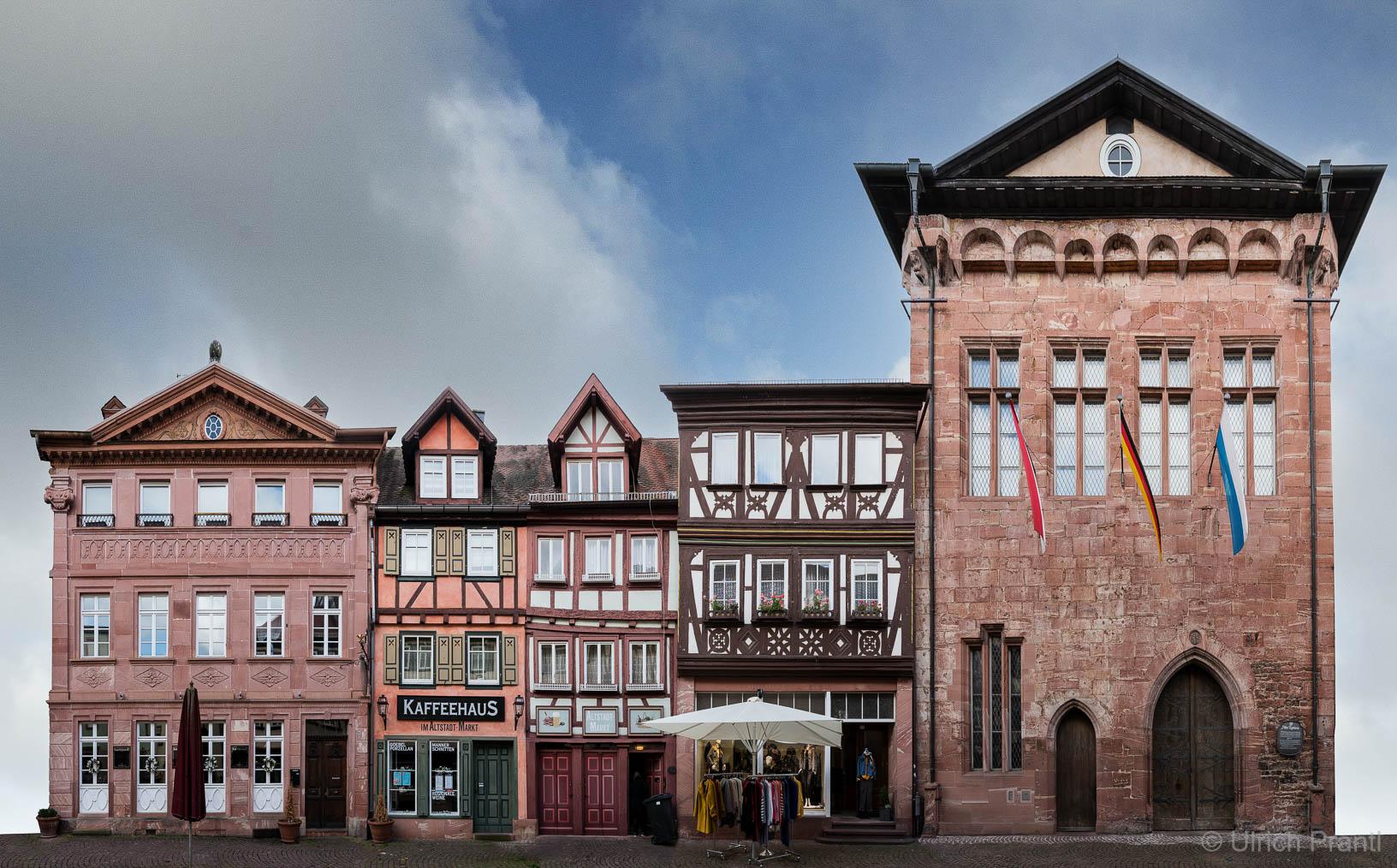 Hauptstraße Miltenberg altes Rathaus
