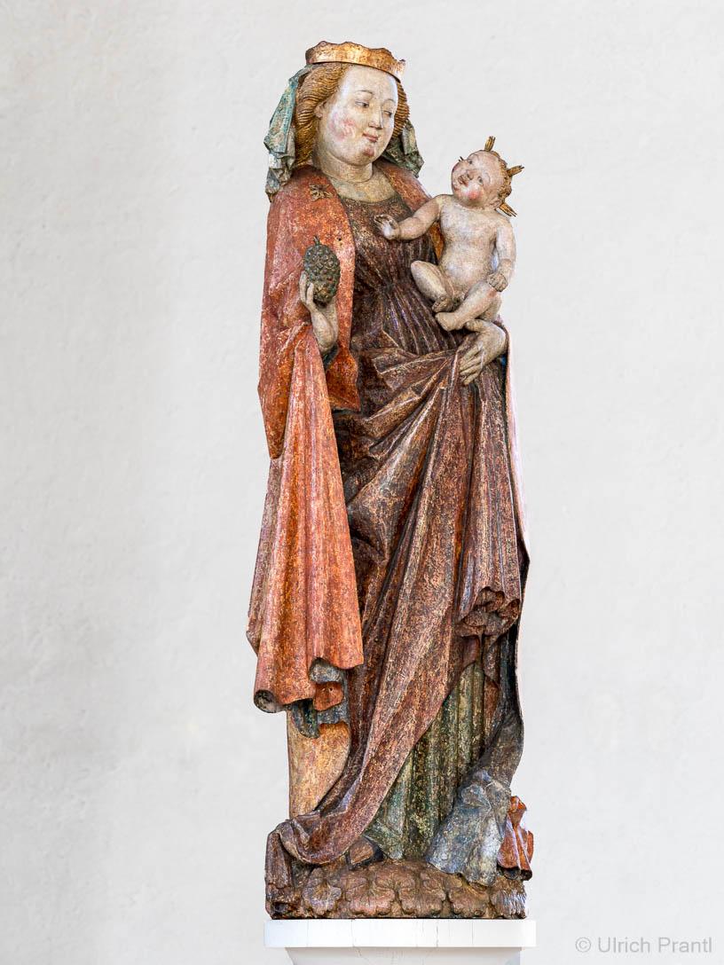 Kälberau: gotische Marienfigur