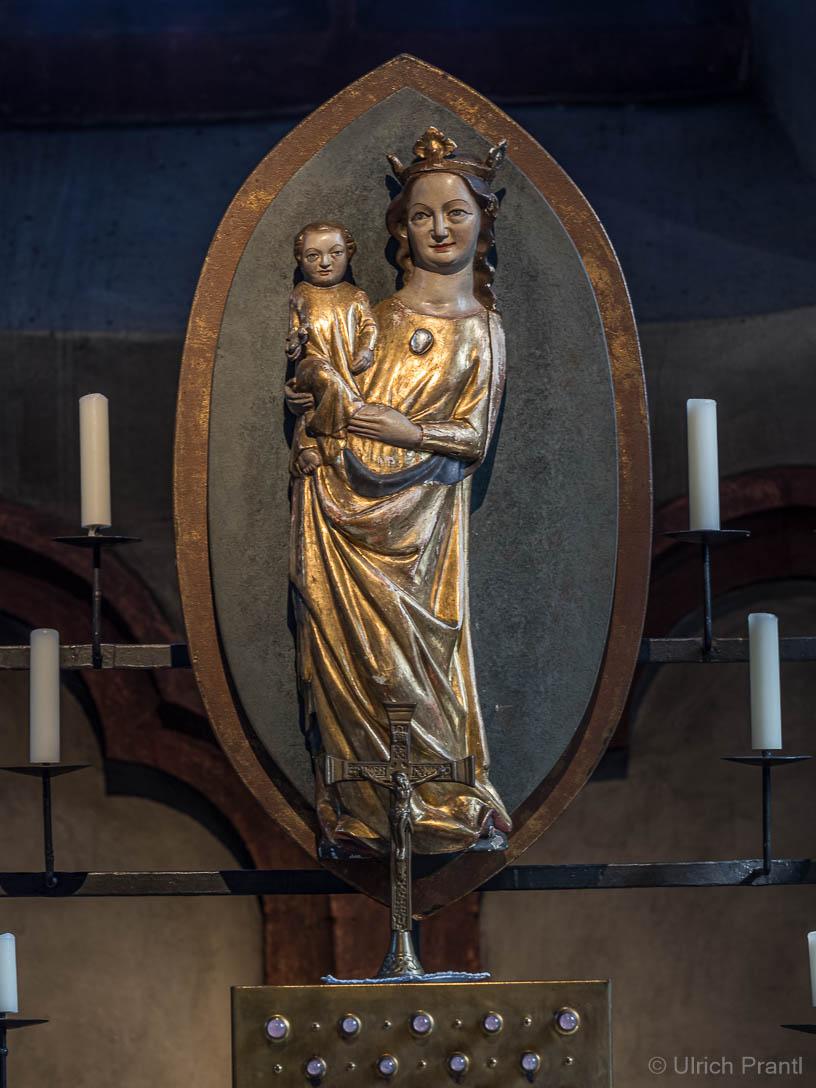 Gnadenbild in der Wallfahrtskirche Kälberau