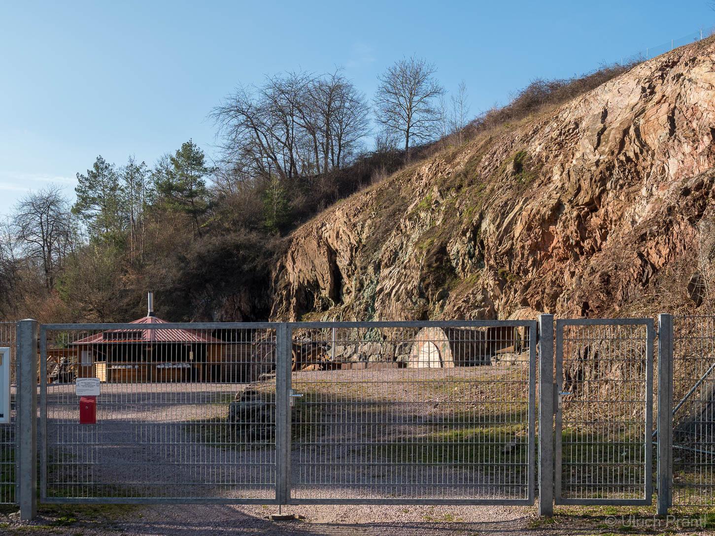 Außengelände der Grube Wilhelmine