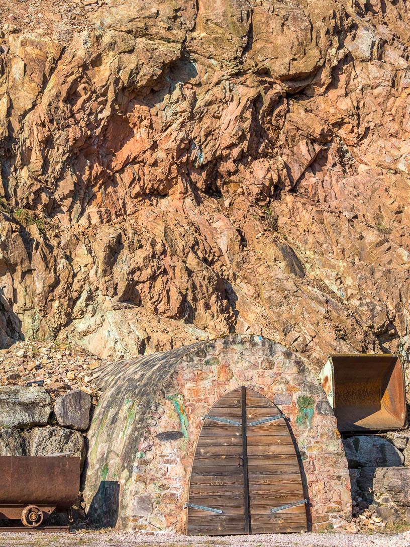 Eingang zum Besucherstollen