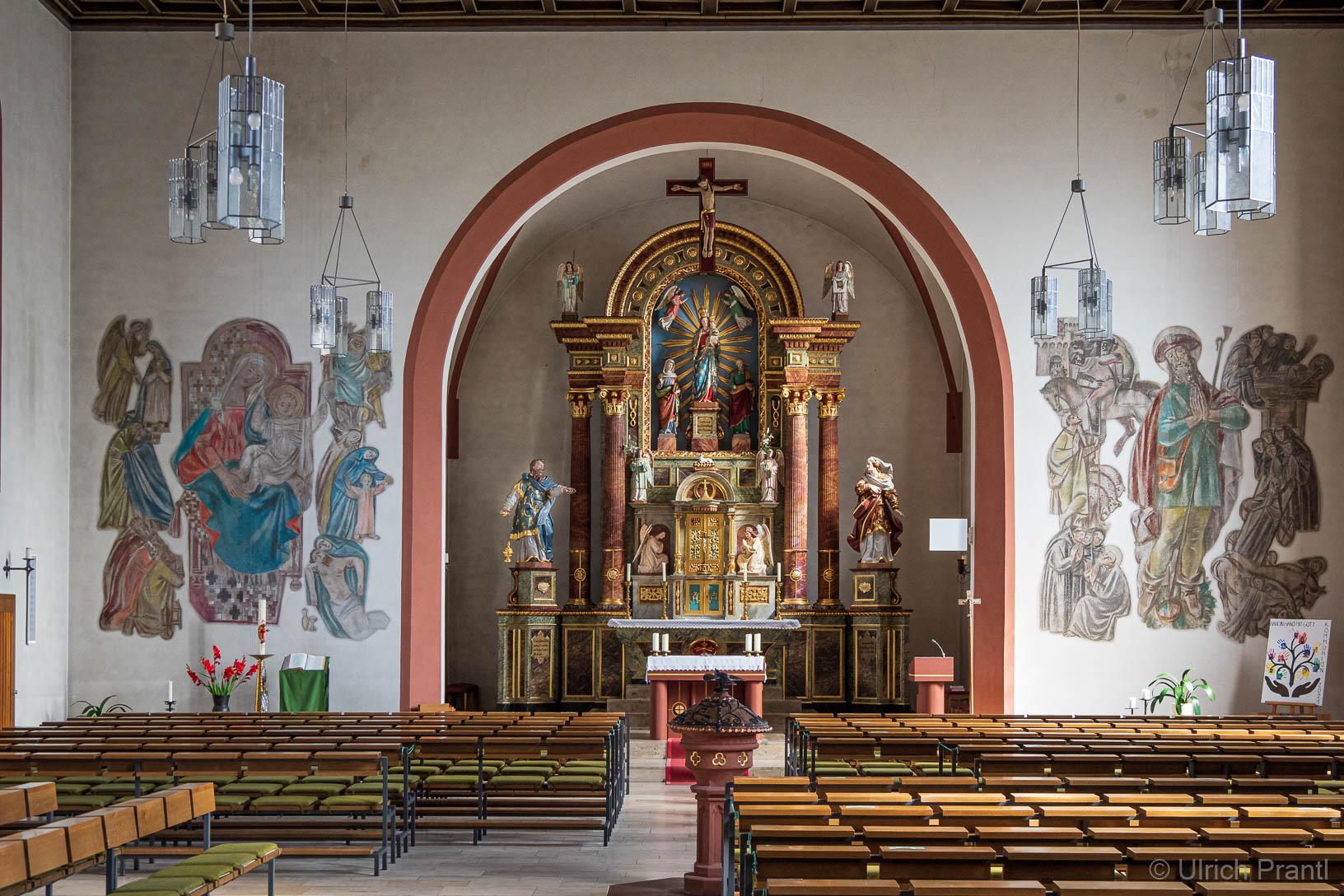Heigenbrücken: Kirche St. Wendelinus