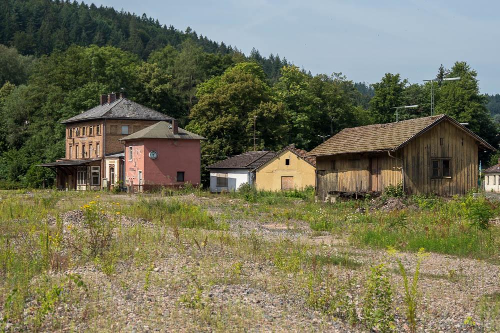 Alter Bahnhof Heigenbrücken im Spessart