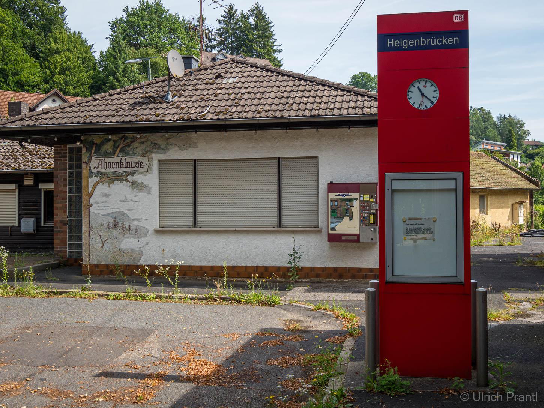 Ehemaliges Bahnhofsgelände Heigenbrücken
