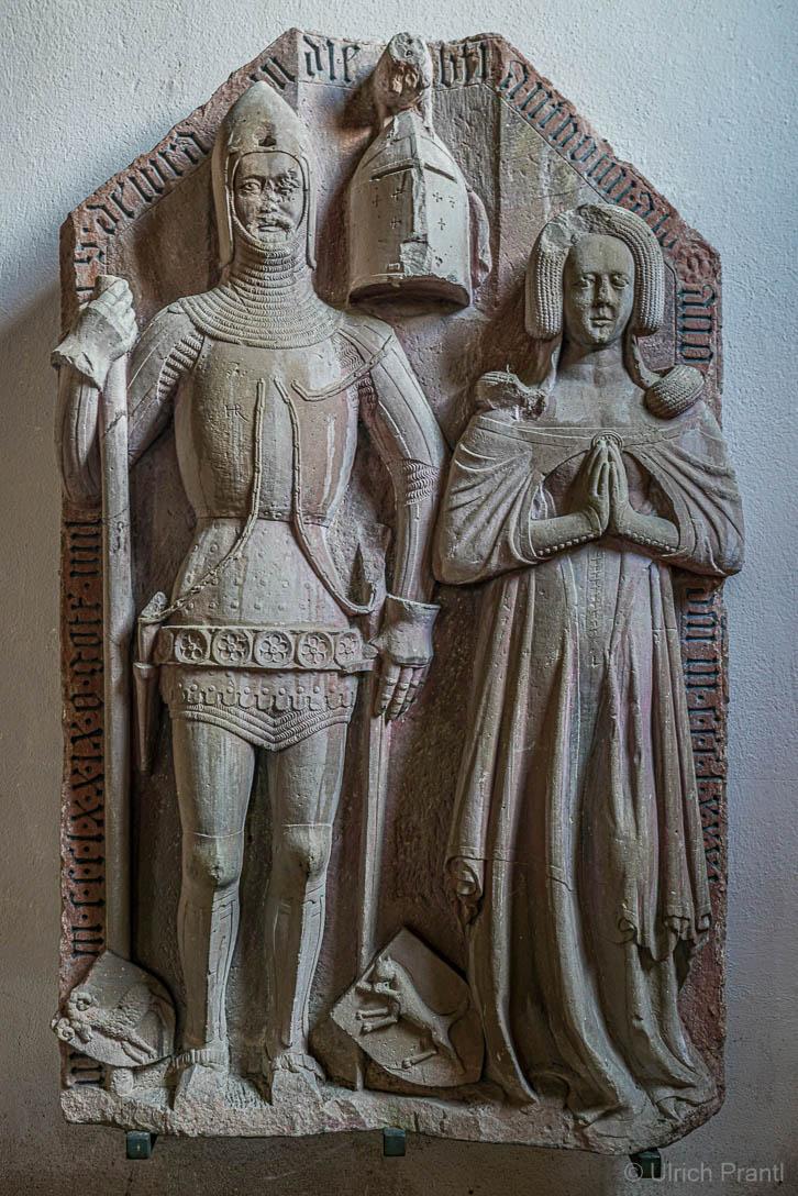 Grabmal von Gottfried Voit Von Rieneck und Ehefrau