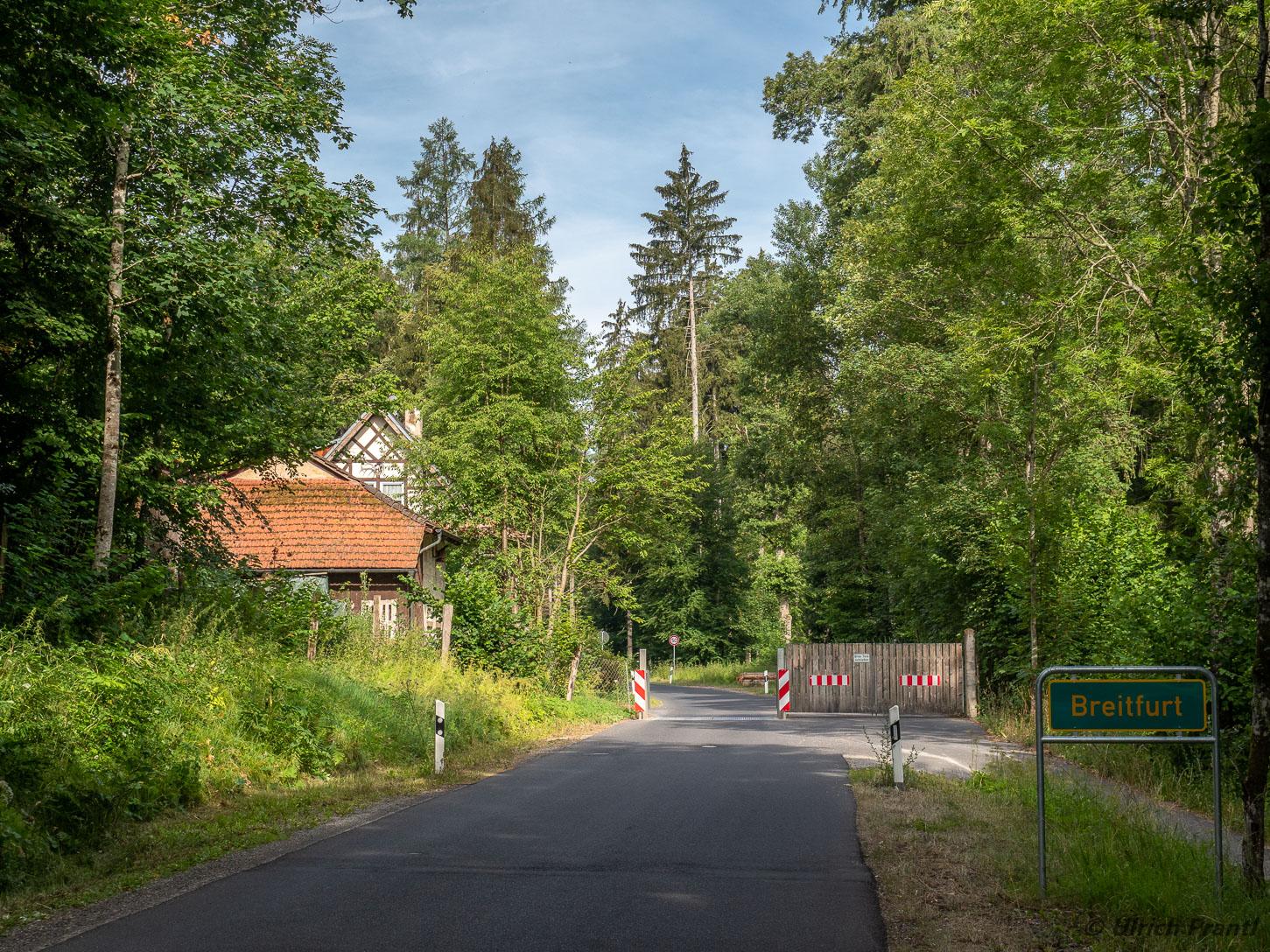 Torhaus / Eingang zum Wildpark